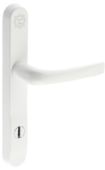 prosecure door handle 240mm white